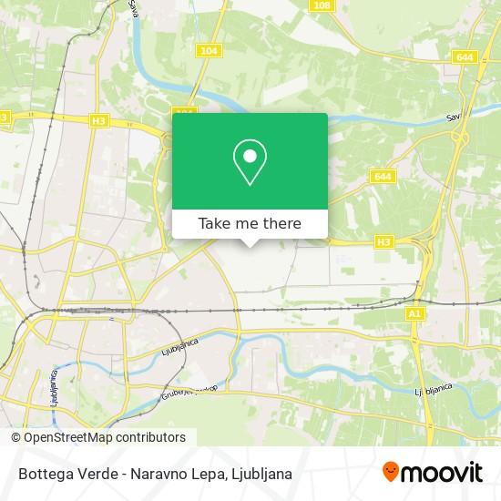 Bottega Verde - Naravno Lepa map