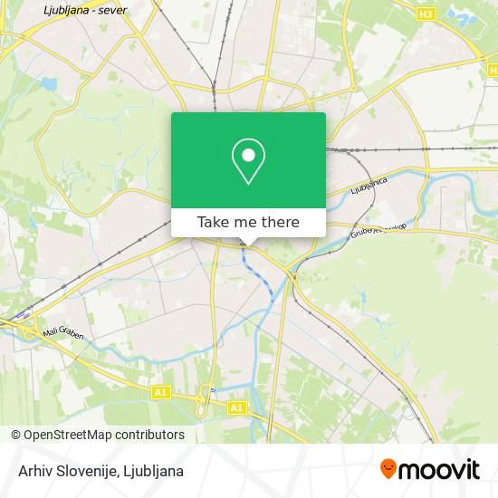Arhiv Slovenije map