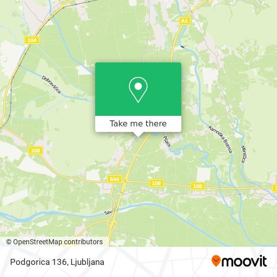 Podgorica 136 map