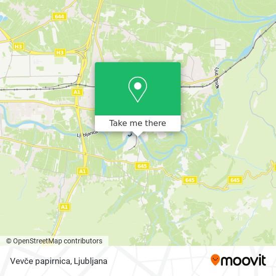 Vevče papirnica map