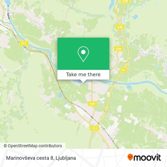 Marinovševa cesta 8 map