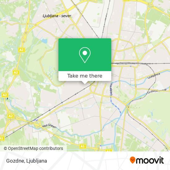 Gozdne map