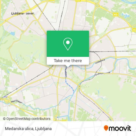 Medarska ulica map