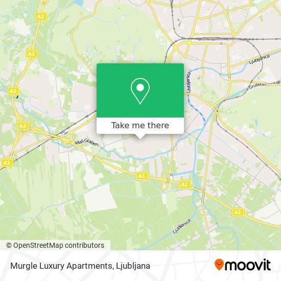 Murgle Luxury Apartments map