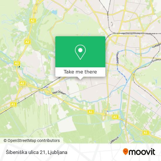 Šibeniška ulica 21 map