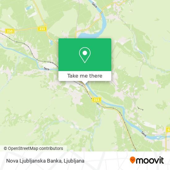 Nova Ljubljanska Banka map