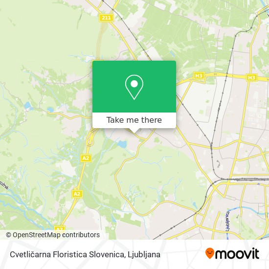 Cvetličarna Floristica Slovenica map