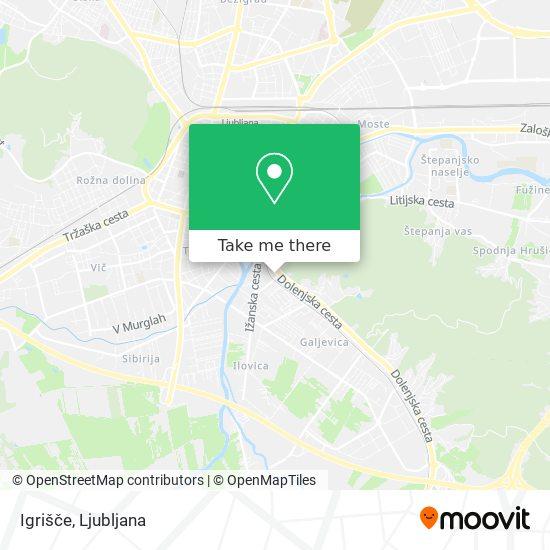 Igrišče map