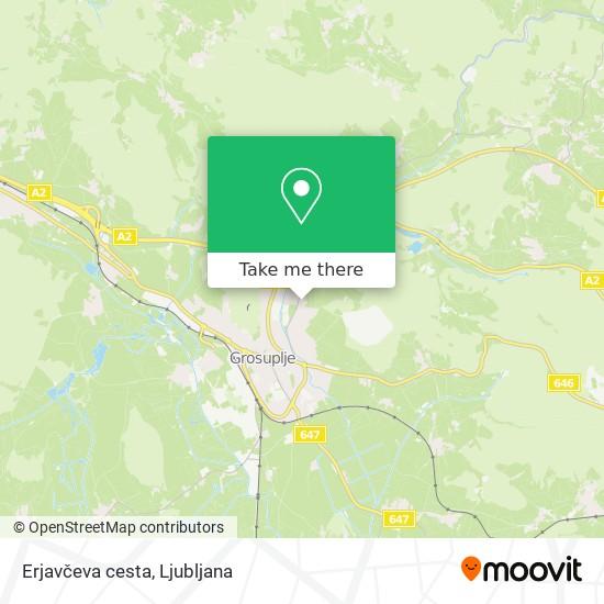 Erjavčeva cesta map