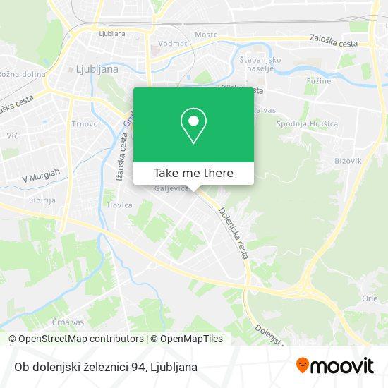 Ob dolenjski železnici 94 map