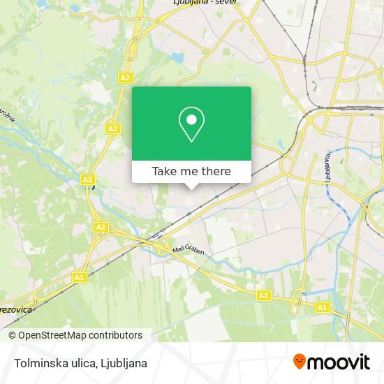 Tolminska ulica map