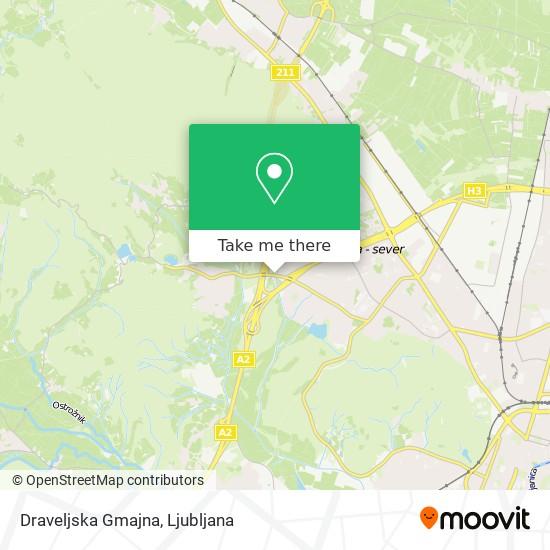 Draveljska Gmajna map