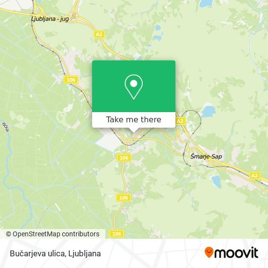 Bučarjeva ulica map