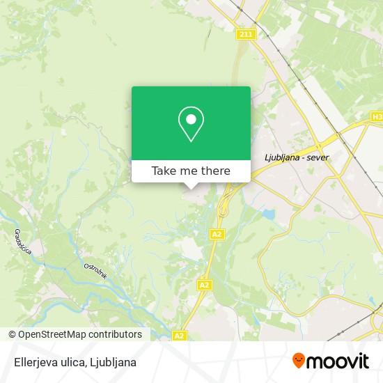 Ellerjeva ulica map