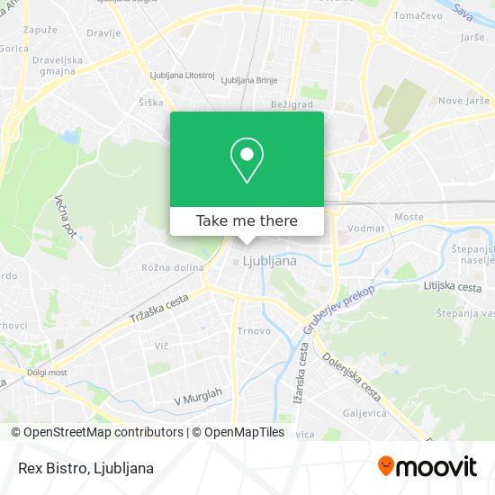 Rex Bistro map
