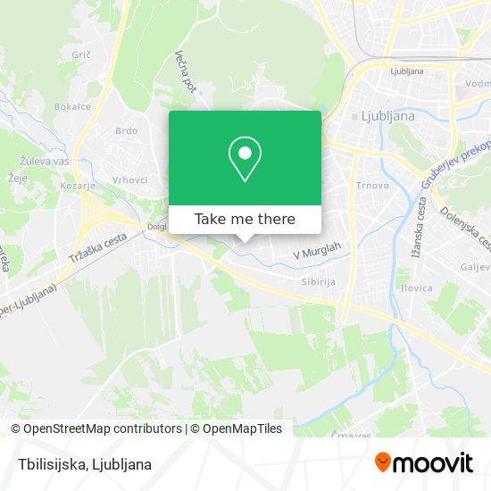 Tbilisijska map