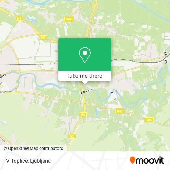 V Toplice map