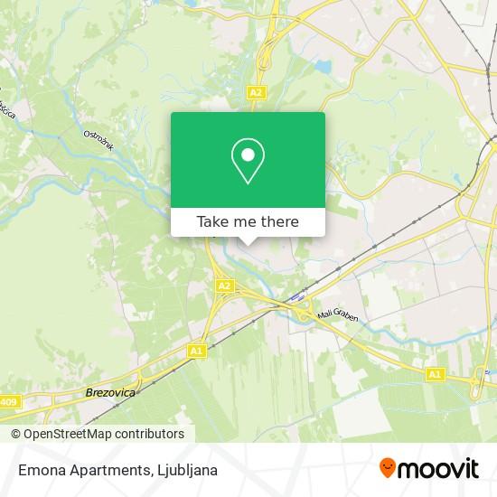 Emona Apartments map