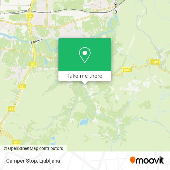 Camper Stop map