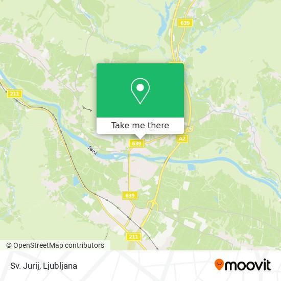 Sv. Jurij map