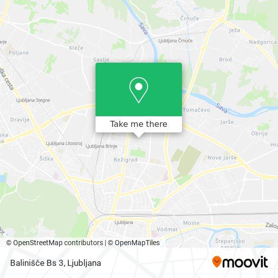 Balinišče Bs 3 map