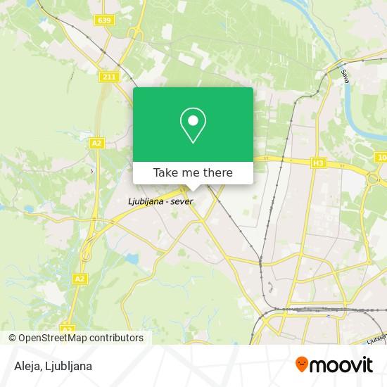 Aleja map
