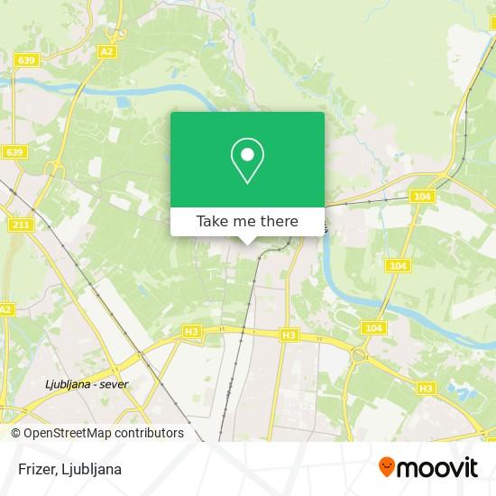 Frizer map