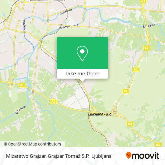 Mizarstvo Grajzar, Grajzar Tomaž S.P. map