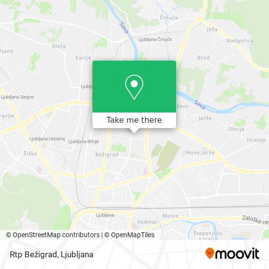 Rtp Bežigrad map