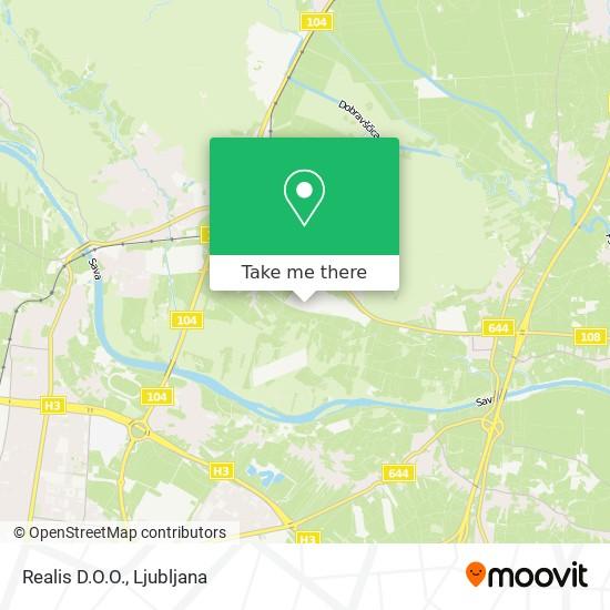 Realis D.O.O. map