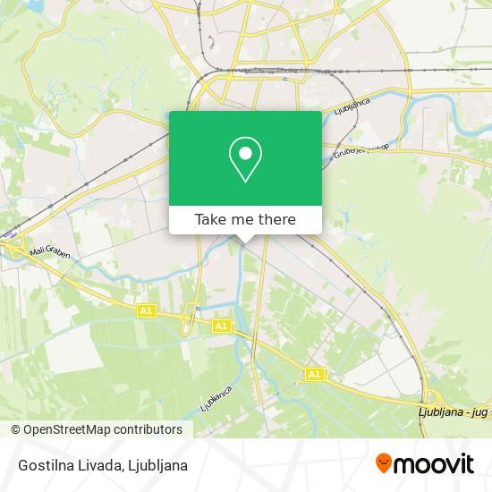 Gostilna Livada map