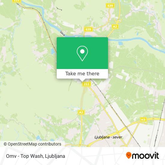 Omv - Top Wash map