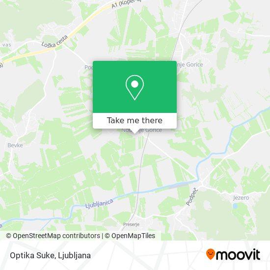 Optika Suke map