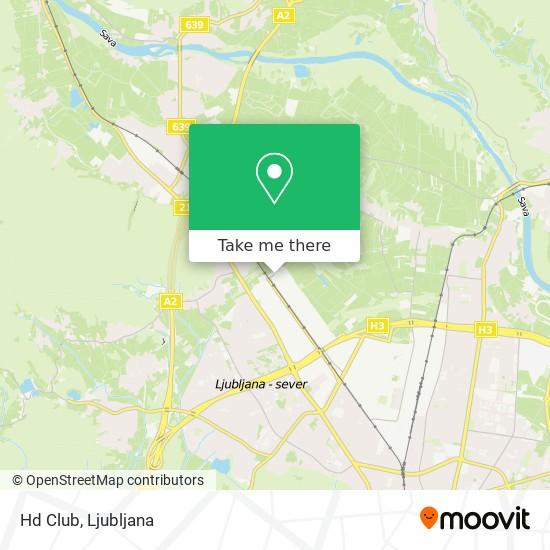 Hd Club map