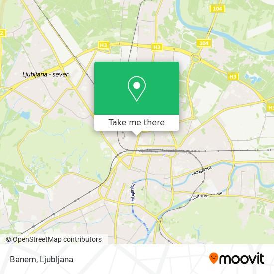 Banem map