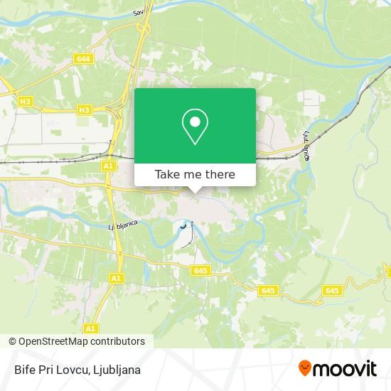 Bife Pri Lovcu map