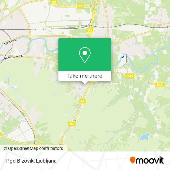 Pgd Bizovik map
