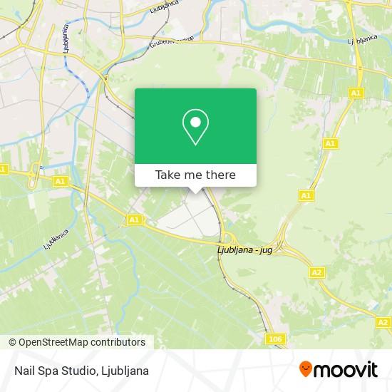 Nail Spa Studio map