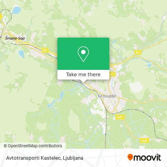 Avtotransporti Kastelec map