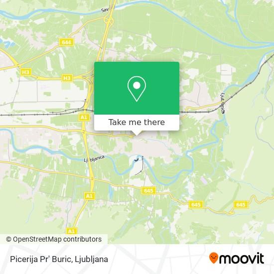 Picerija Pr' Buric map