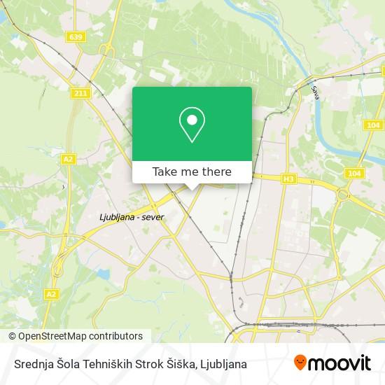 Srednja Frizerska Šola Ljubljana map