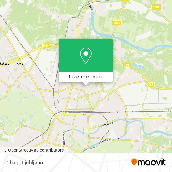 Chagi map