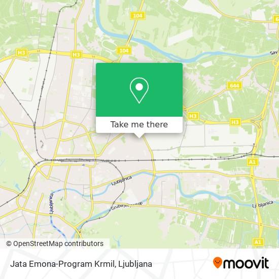 Jata Emona-Program Krmil map