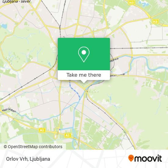 Orlov Vrh map