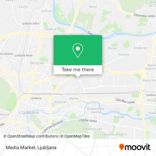 Media Market map