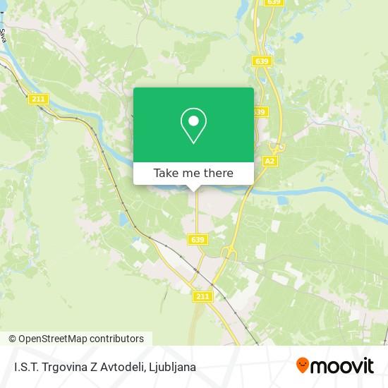 I.S.T. Trgovina Z Avtodeli map