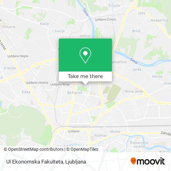 Ekonomska Fakulteta map