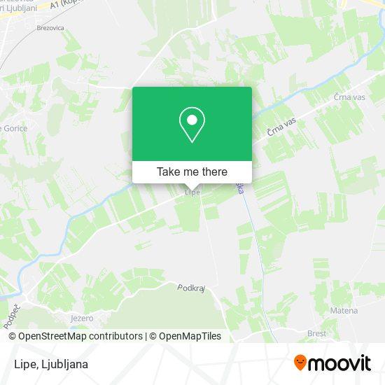 Lipe map