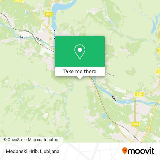 Medanski Hrib map