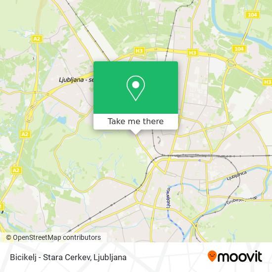 Bicikelj map